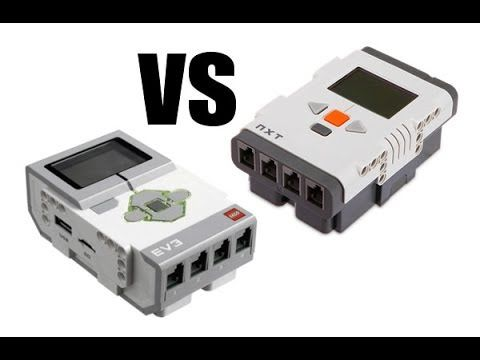 Lego Mindstorms EV3 vs NXT 2 0 Differences | LEGO Robotics