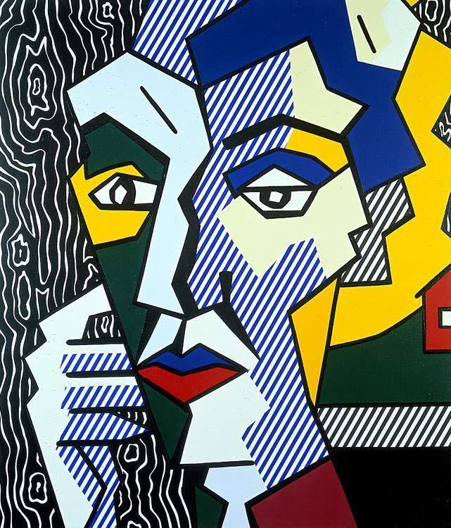 Roy lichtenstein 1980 expressionist head a oil and - Pop art roy lichtenstein obras ...