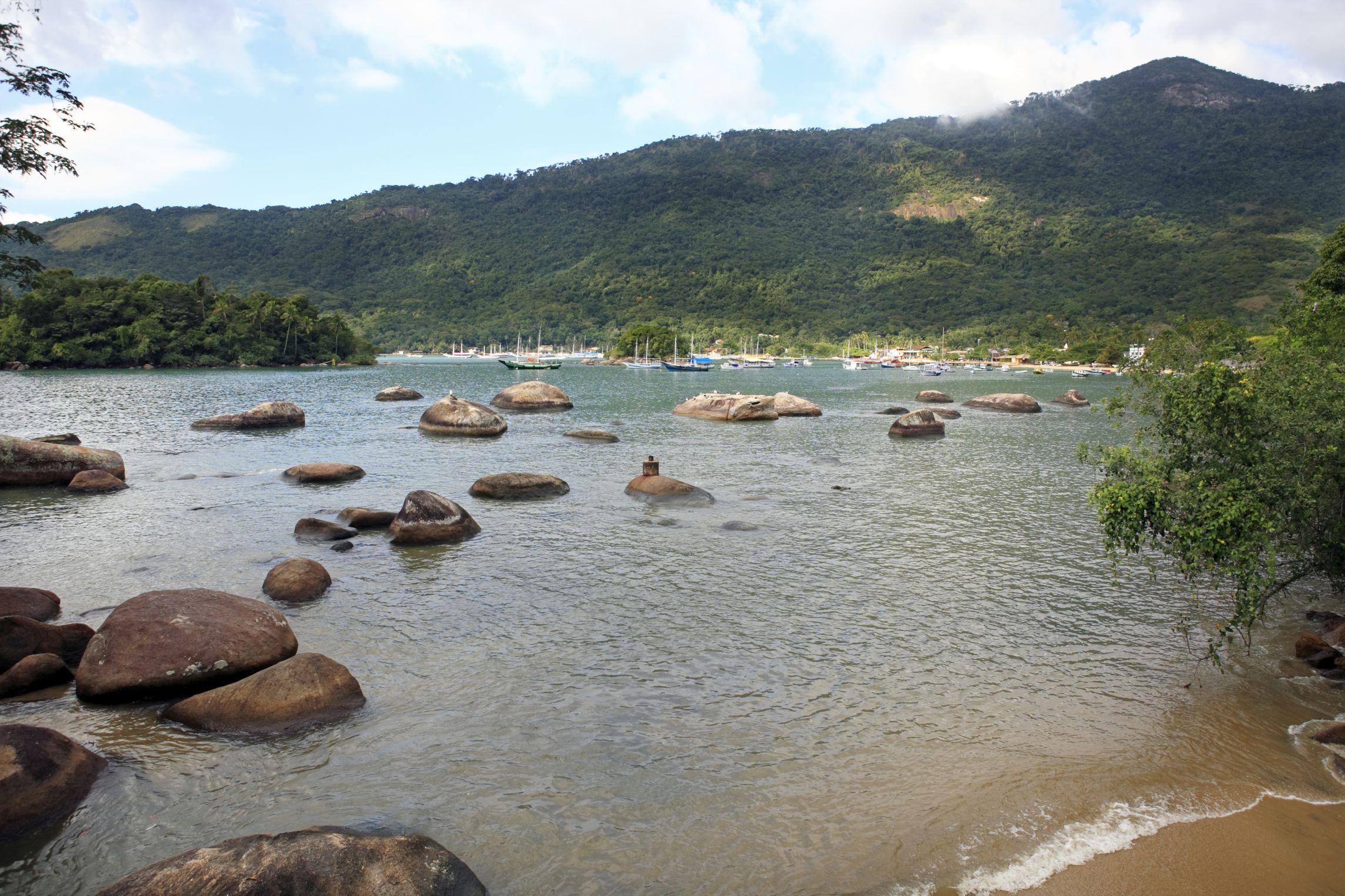 Ilha Grande Brazil Located Three Hours South Of Rio De