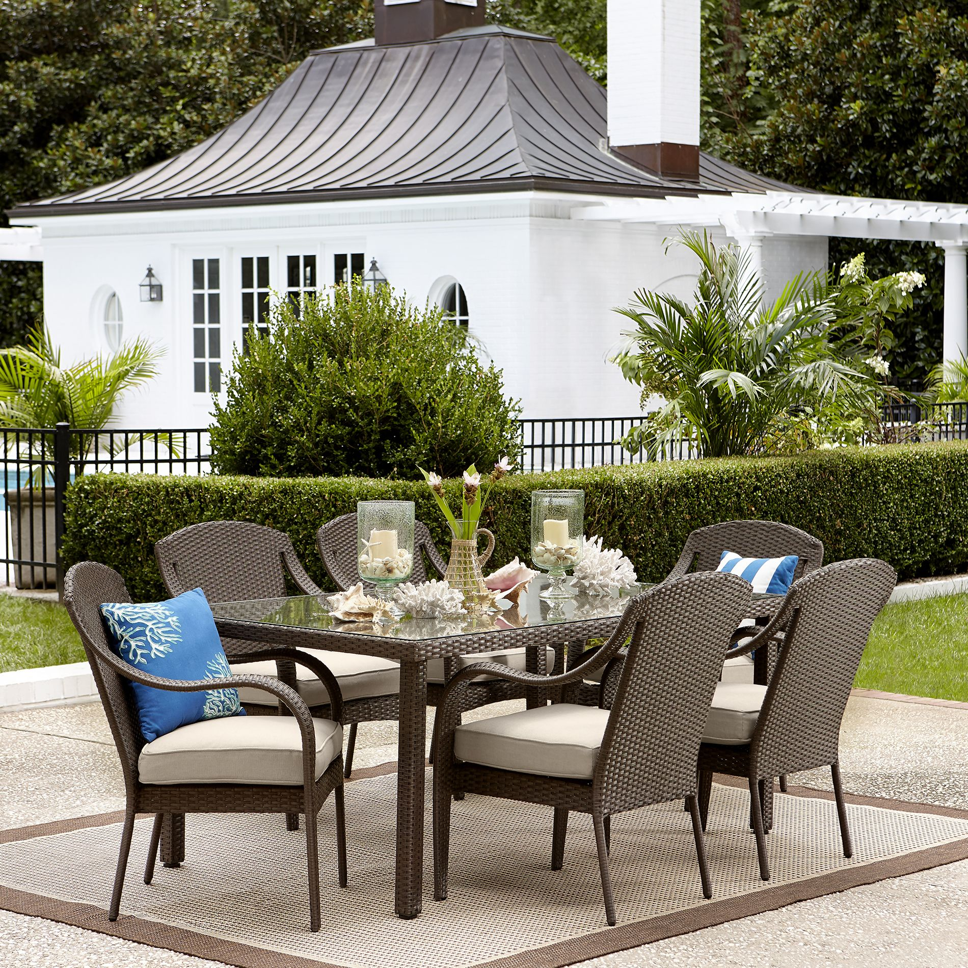 grand resort summerfield 7 piece patio dining set http www