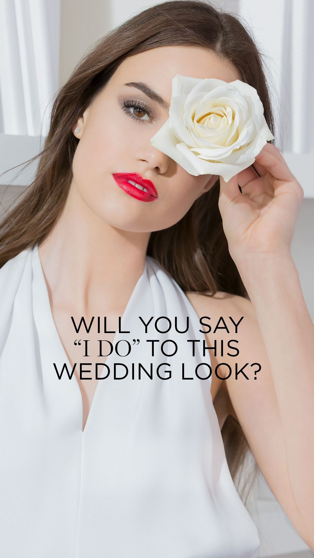 Create The Perfect Wedding Makeup Look With Lancome S Teint Idole Foundation L Absolue Rouge