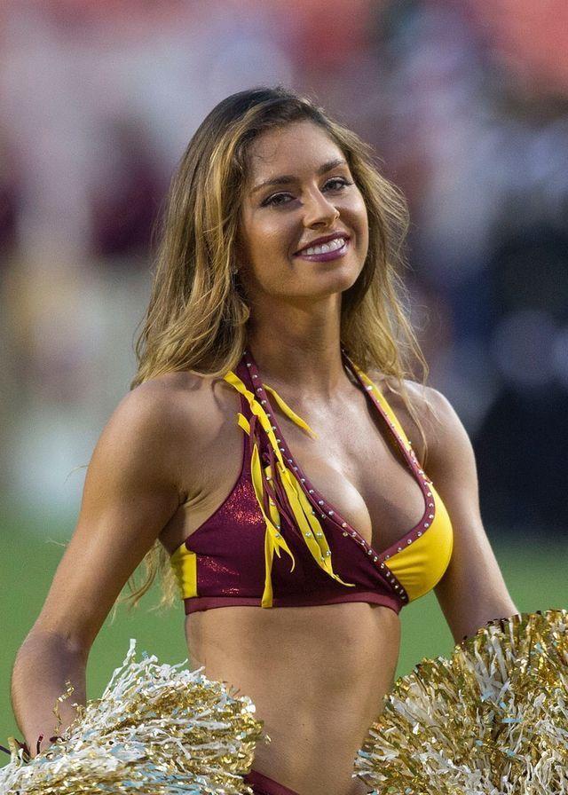 Washington redskins cheerleaders nude