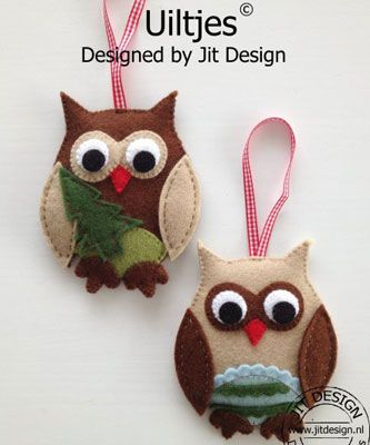 cute Christmas owls Natal Pinterest Christmas owls, Owl and