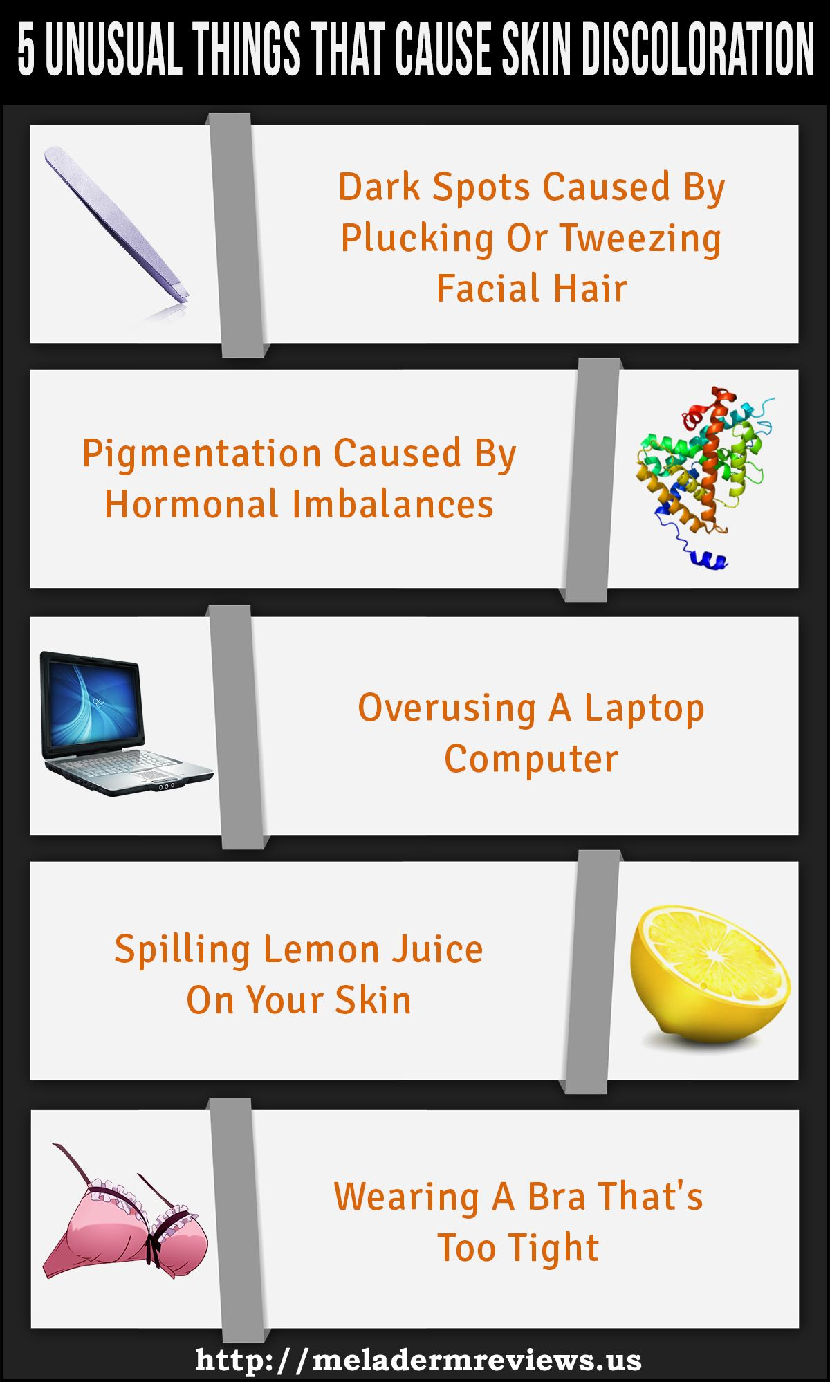 5 Unusual Things That Cause Skin Discoloration - Meladerm ...