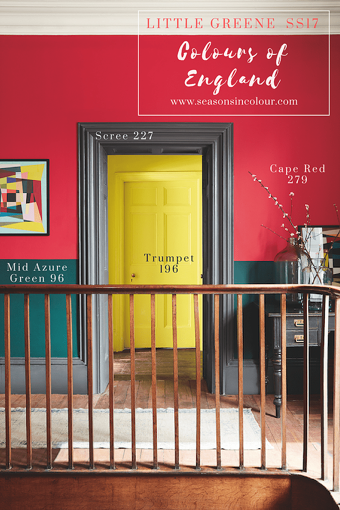 Colour Chart update from Little Greene | Pinterest | Vivid colors ...
