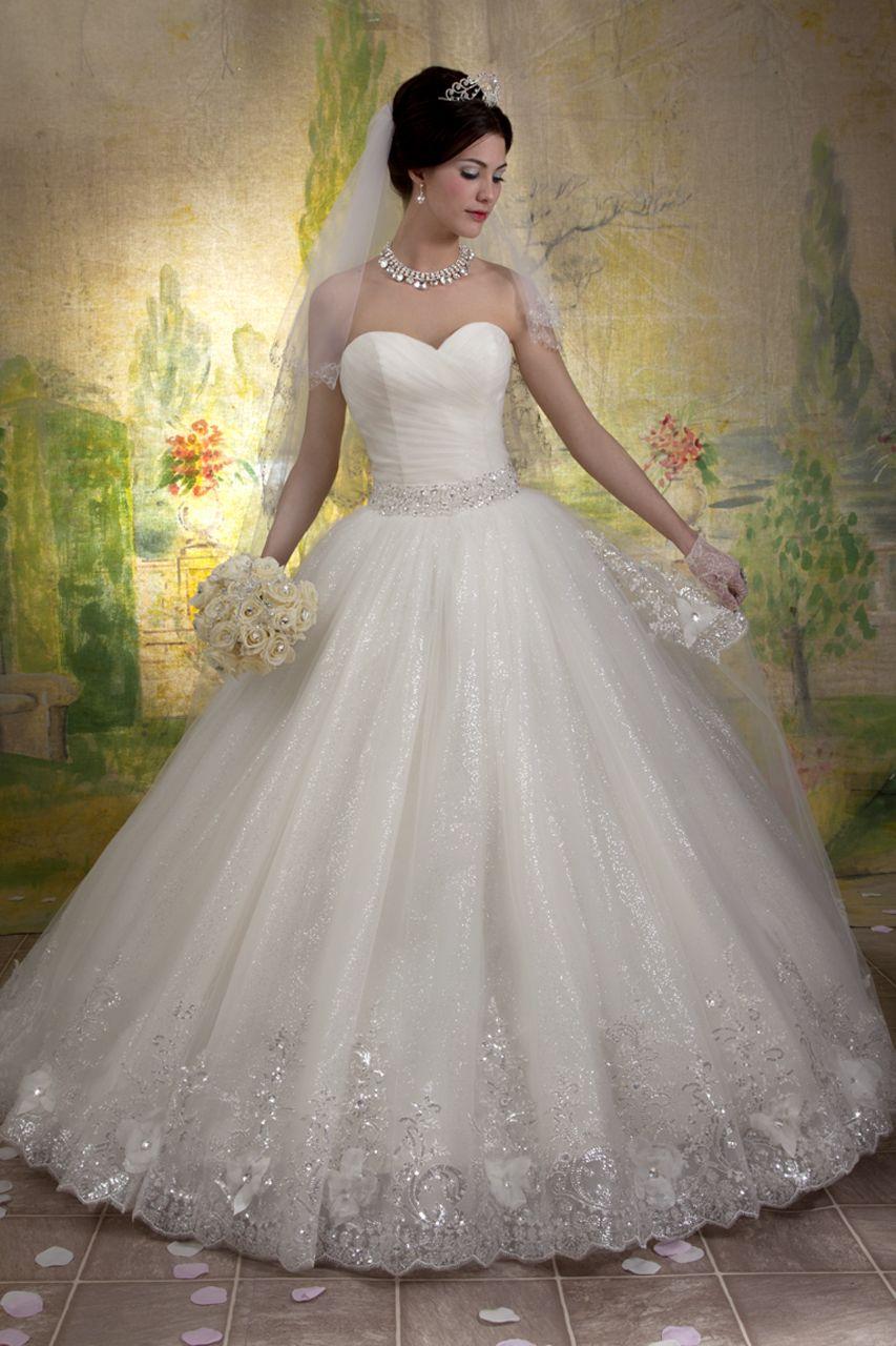 Cinderella Wedding Dress Marys Bridal Style 6146