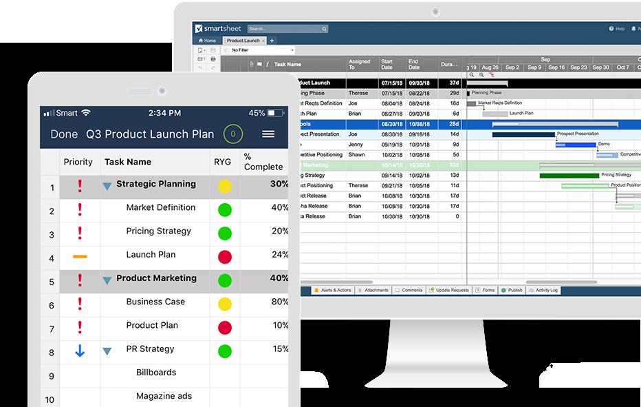 Feature Overview Smartsheet Smartsheet, Strategic