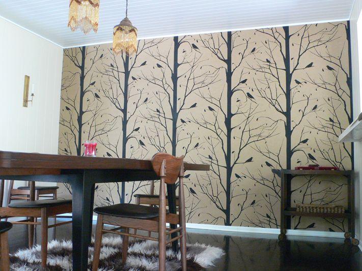 Wall Paper Ideas walnut wallpaper (+ paper ideas for you!) | botanical wallpaper