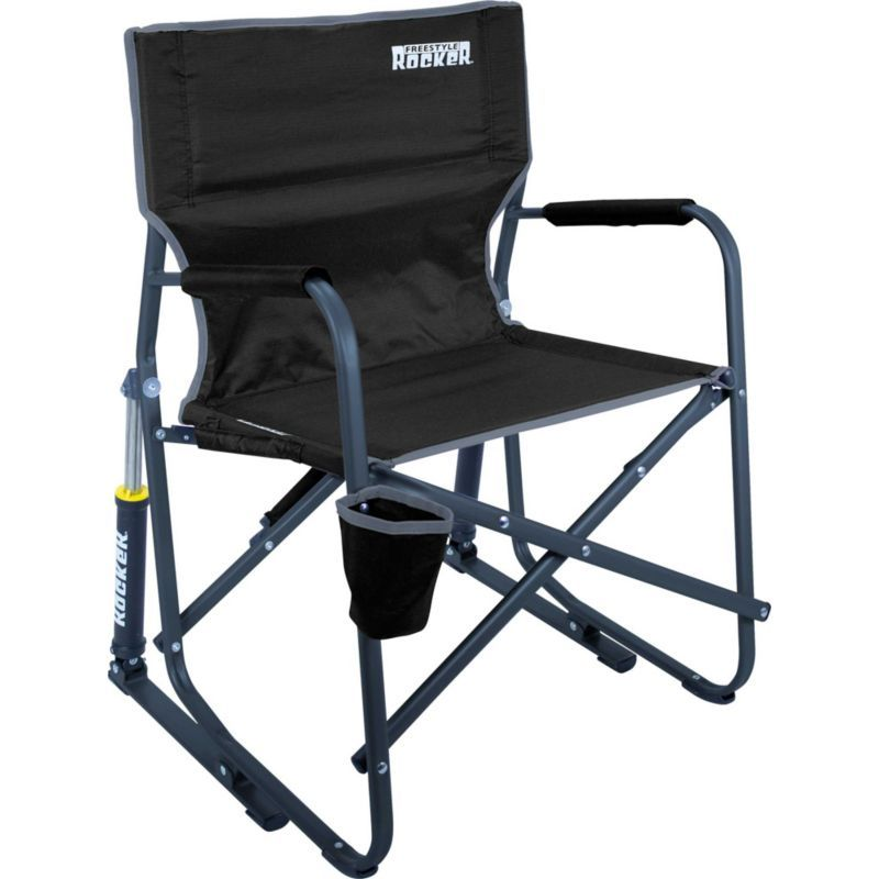 Gci Outdoor Freestyle Rocker Chair Black Camping