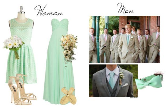 Mint Green Wedding Bridal Party Arel Ideas For Brides Grooms