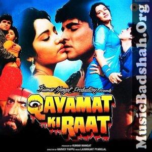 Qayamat Ki Raat 1990 Bollywood Hindi Movie Mp3 Songs Download Hindi Movies Mp3 Song Mp3 Song Download