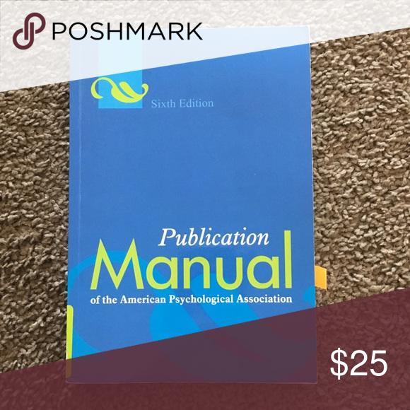 apa manual 6th edition pinterest apa manual conditioning and