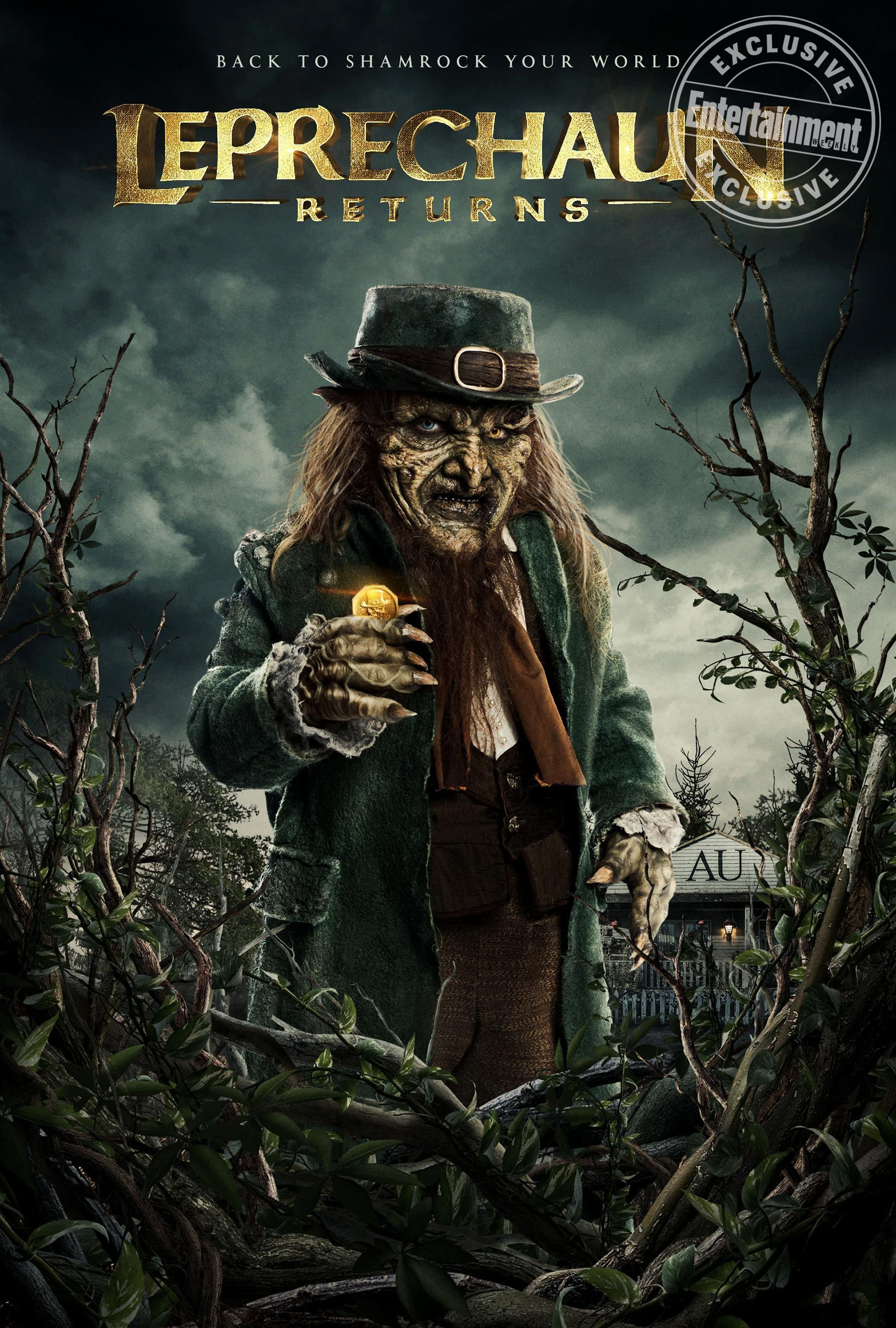 Em Leprechaun Returns Em Trailer Teases Magic Mayhem And Lots Of Gore Leprechaun Movie Leprechaun Movies