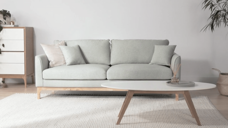 Loren Sofa Rove Concepts Sofa Scandinavian Style Sofa Design Neutral Sofa