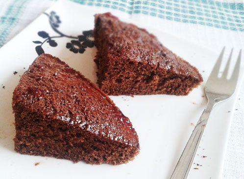 Fit perník pre dvoch. Hotový v mikrovlnke za pár minút. Lepší ako originál ;-) Recept v novej eknihe Fit koláčiky zo šálky.