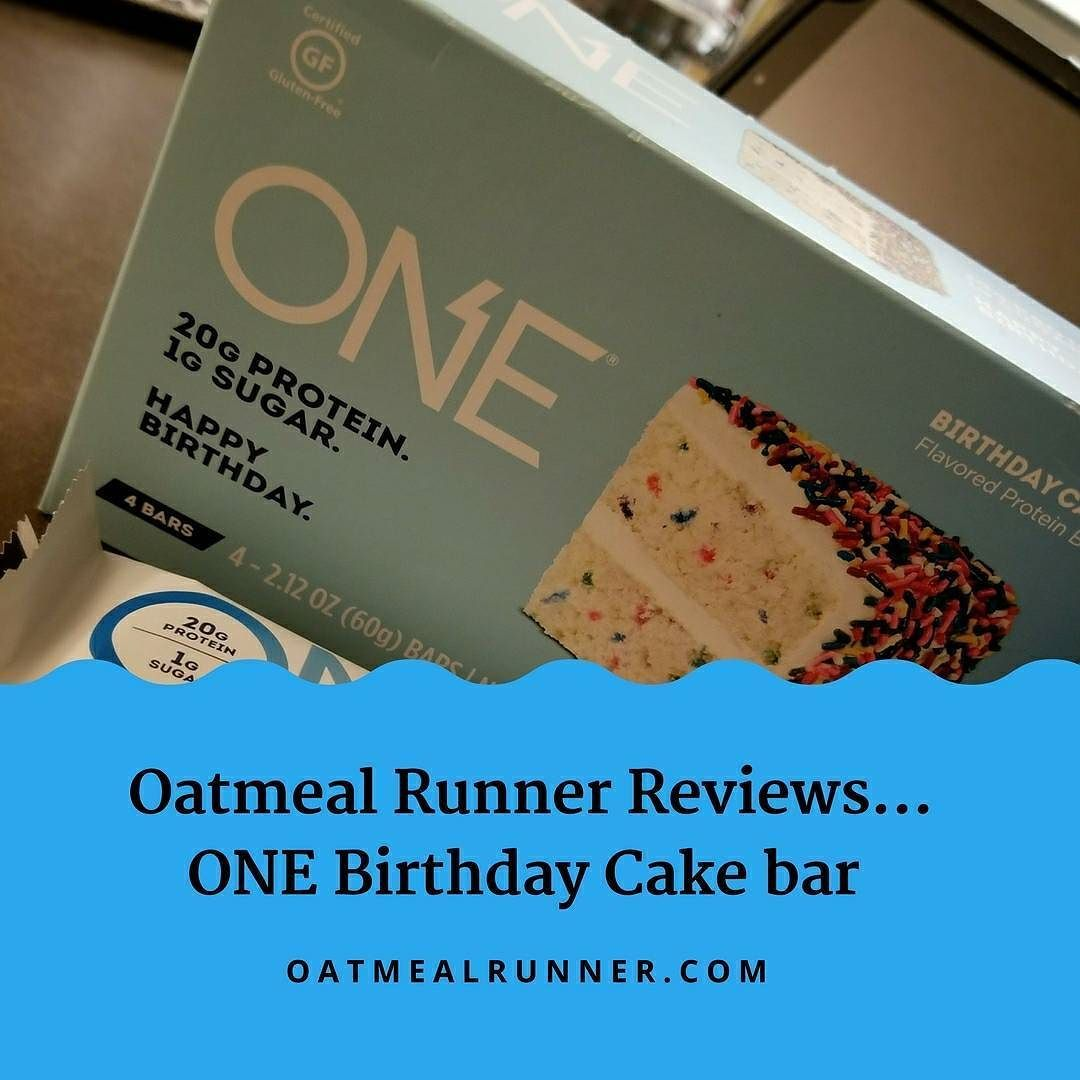 Up On The Blog Today I Review The ONE Birthday Cake Bar Spoiler