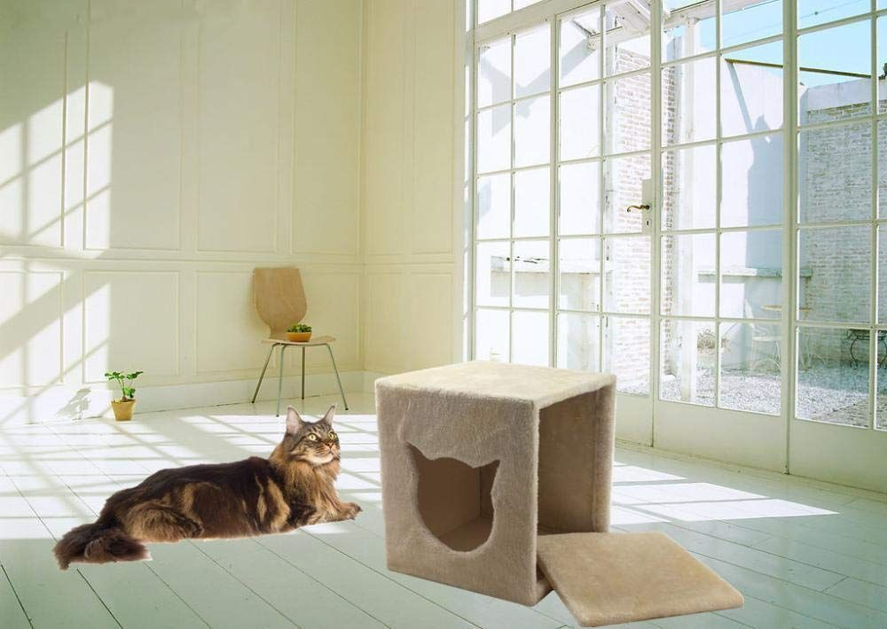 Kaxima 3 Platform Cat Tree Scratching Post Activity Centre Pet Cat