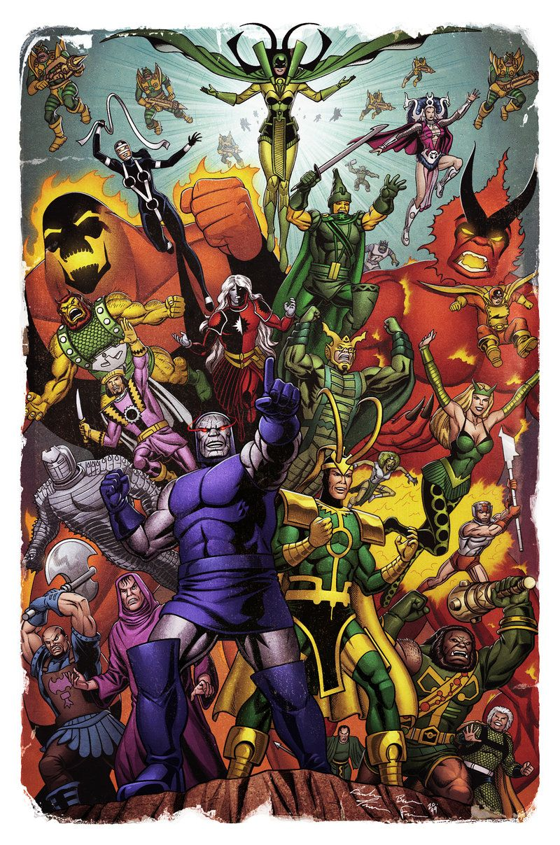 Evil Gods by spidermanfan2099 | Crossover/Parodies | Dc