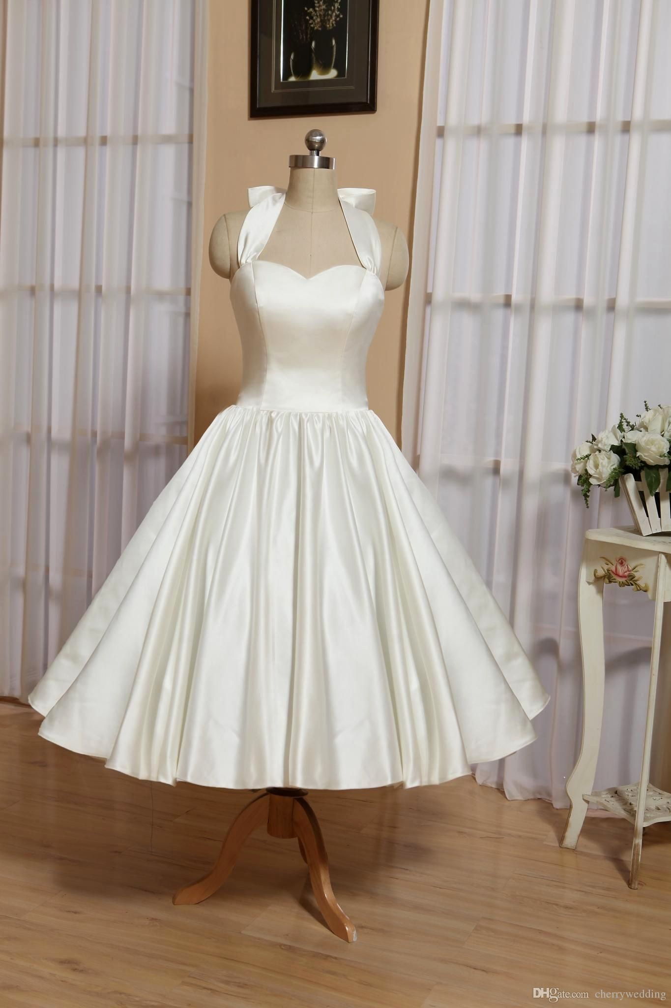 25 White Rockabilly Wedding Dress Wedding Dresses 50s