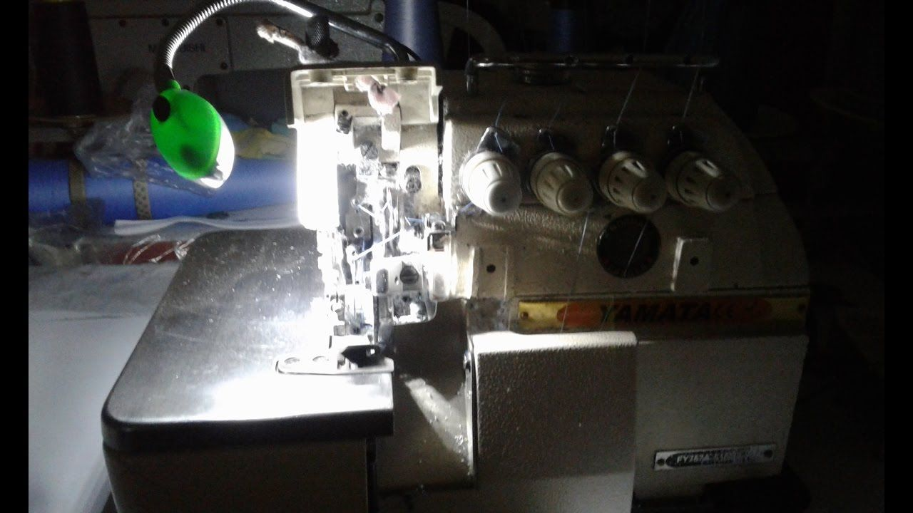 Como instalar luz led a tu maquina overlock industrial - Como instalar lamparas led ...