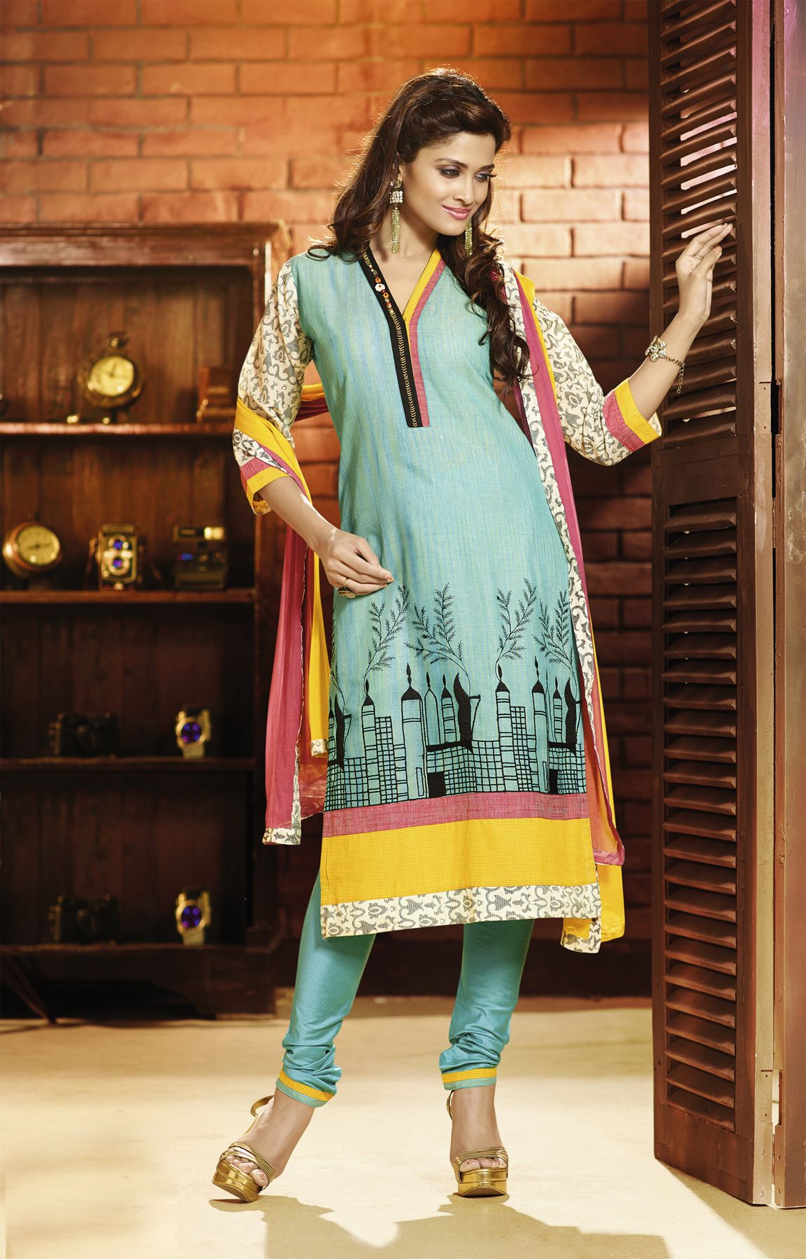 d3b6c371d4 Churidar-Kurta Sets3003 - RmKV Silks | Dress | Silk saree ...