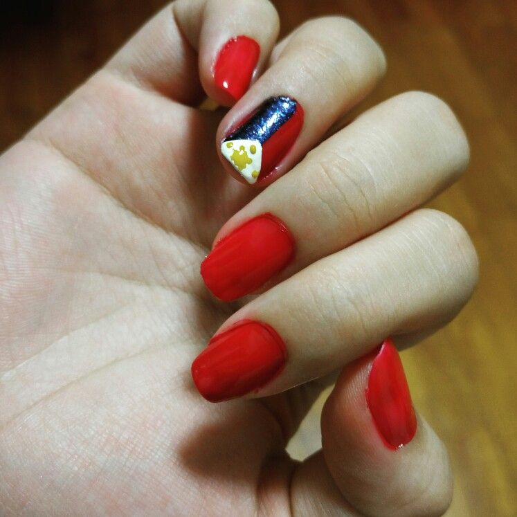 Red philippine flag nail art my nail art addiction pinterest red philippine flag nail art prinsesfo Gallery
