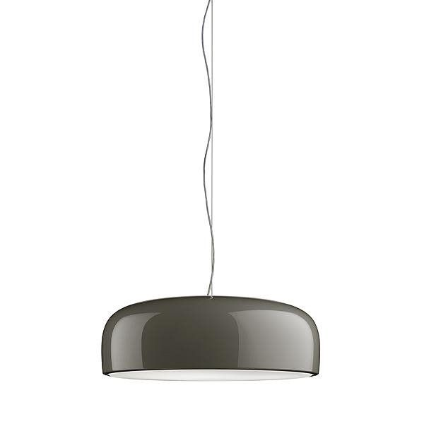 Smithfield Suspension O60cm Gris Flos Jasper Morrison 769 50 Eclairage Direct Lampe Lampe Suspension