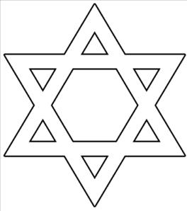 Vector Clip Art Online Royalty Free Public Domain Hanukkah Crafts Happy Hanukkah Images Star Of David