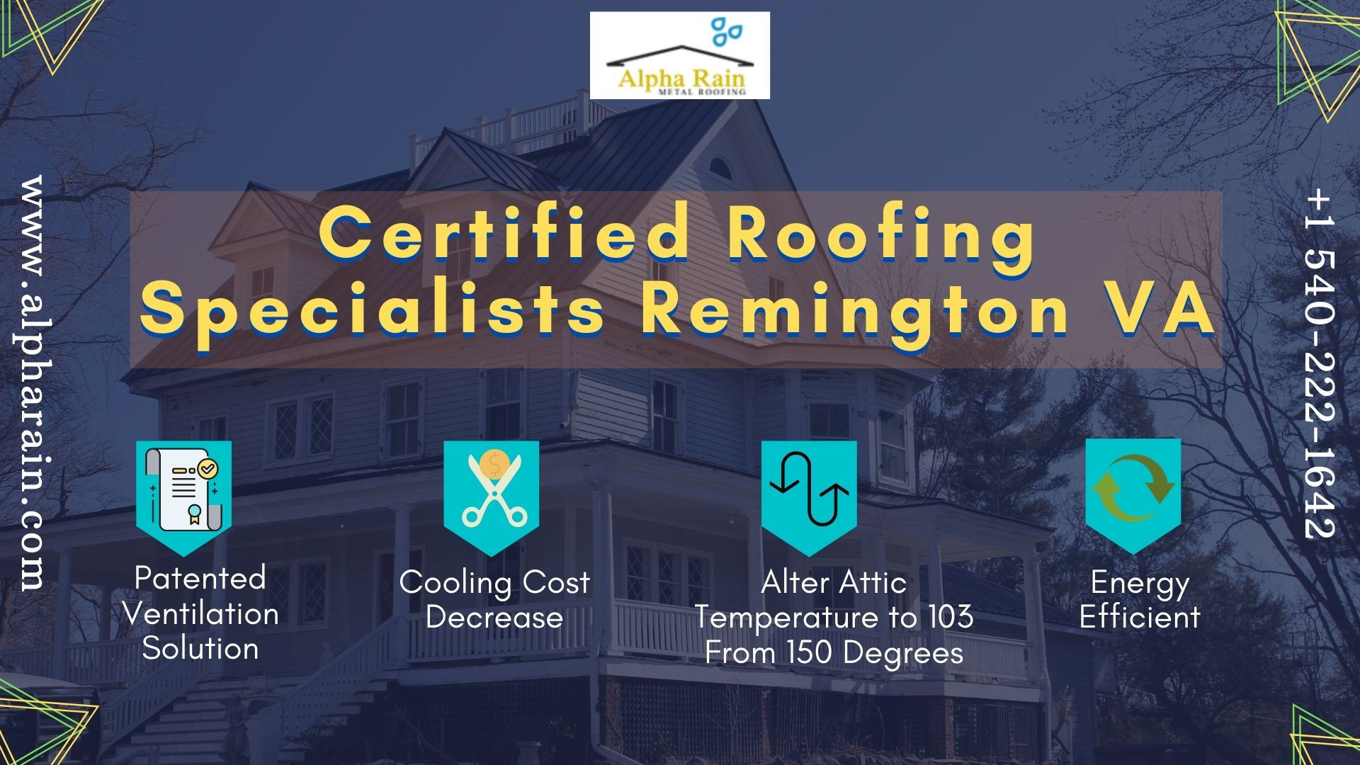 Worried For New Metal Roof Installation Alpha Rain Installs Energy Efficient Roofs At An A In 2020 Roof Installation Metal Roof Installation Metal Roofing Contractors