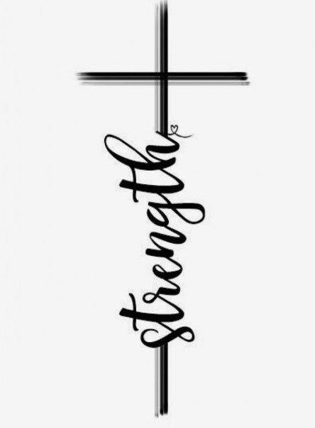 27 Ideen Tattoo zitiert Glauben Bibel Schriften