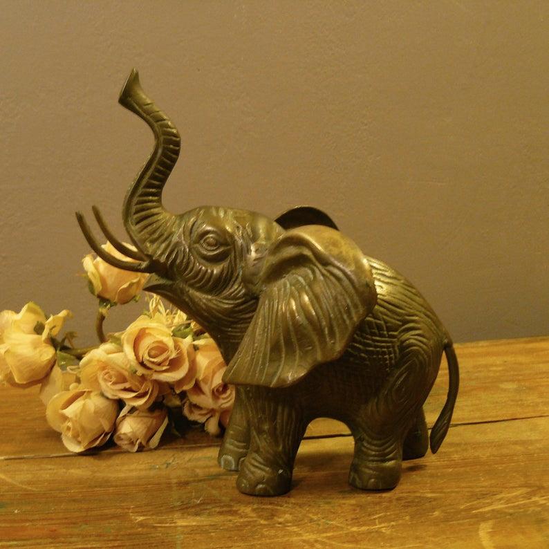 Vintage Brass Elephant Trunk Up For Good Luck 9 X Etsy Elephant Trunk Up Trunk Up Vintage Brass Elephant trunk up vectors (54). pinterest