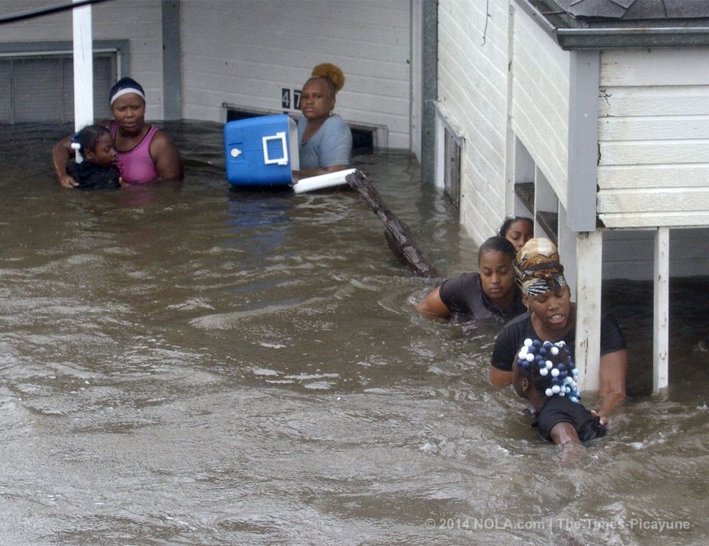 what conditions made hurricane katrina so powerful