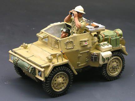 Dingo Scout Car Set Vehiculos Militares Tanques Maquetas