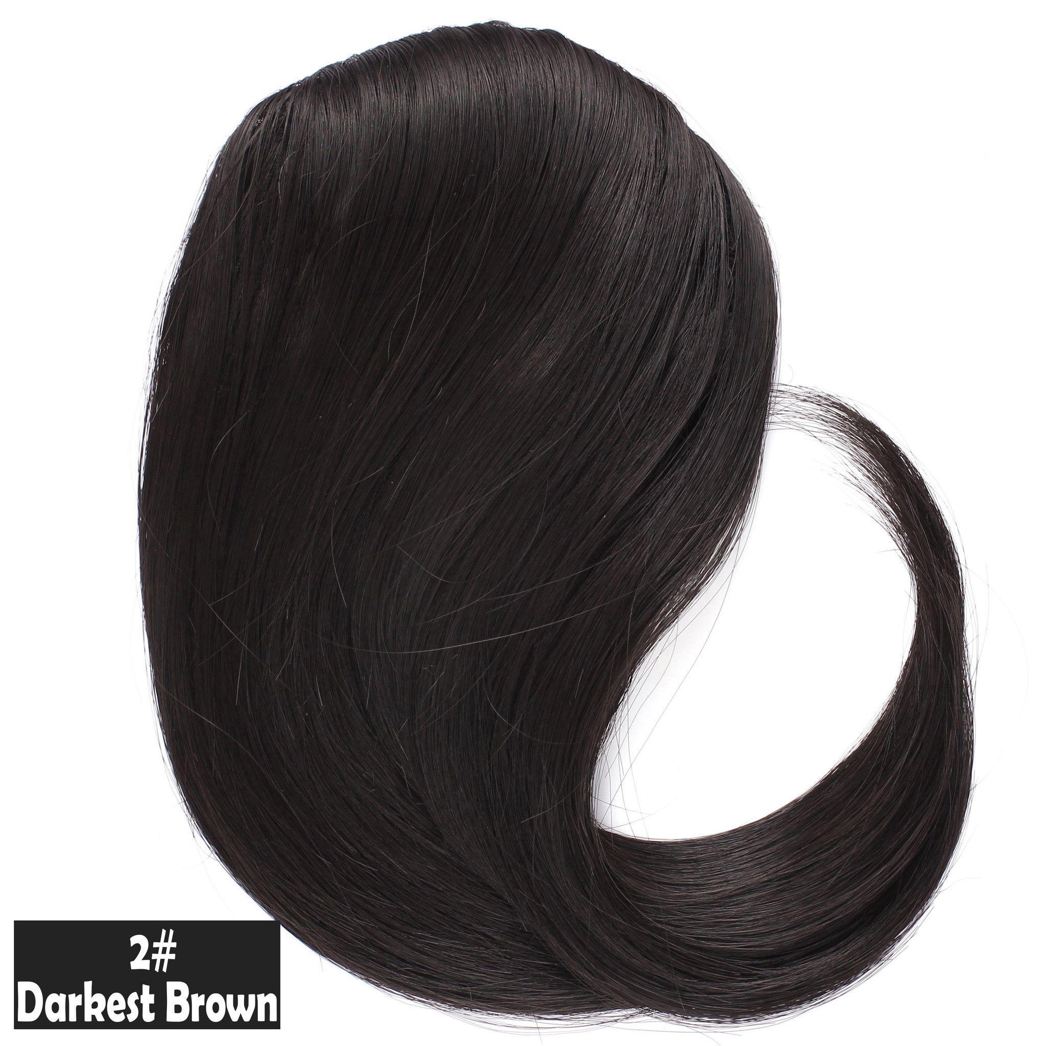 Side clip inon hair bangs easytouse design hair material