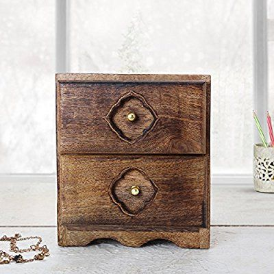 Best Amazon Com Small Chest Of Drawers Handmade Wooden Jewelry 400 x 300