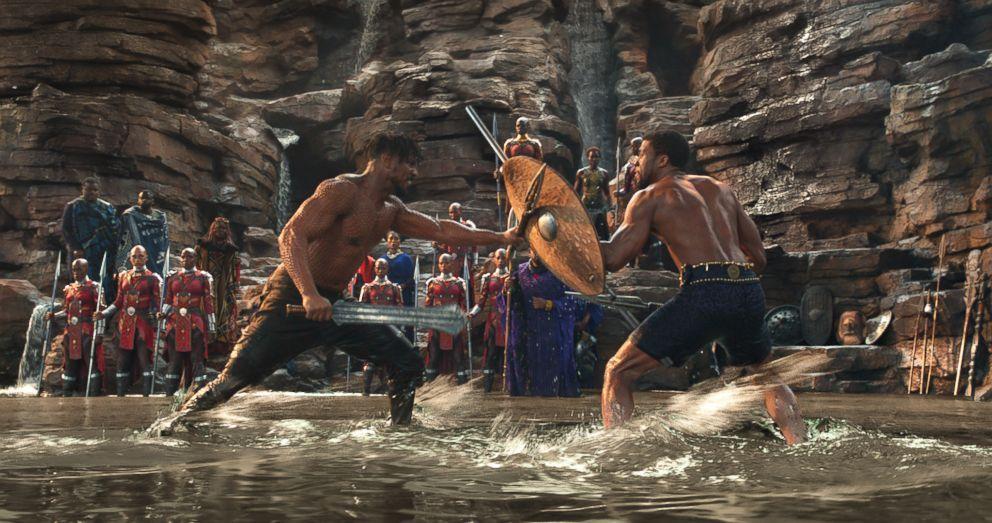 ผลการค้นหารูปภาพสำหรับ ิblack panther scenes waterfall