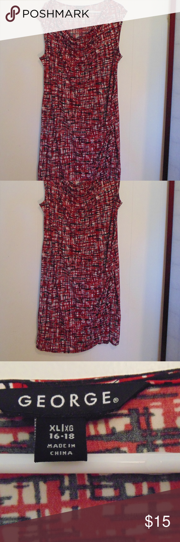 Red Sleeveless Summer Dress Sleeveless Dress Summer Summer Dresses Dresses [ 1740 x 580 Pixel ]