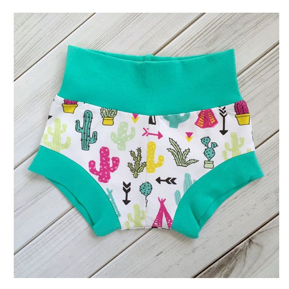 baby shorts bloomers cacti shorts summer baby clothes