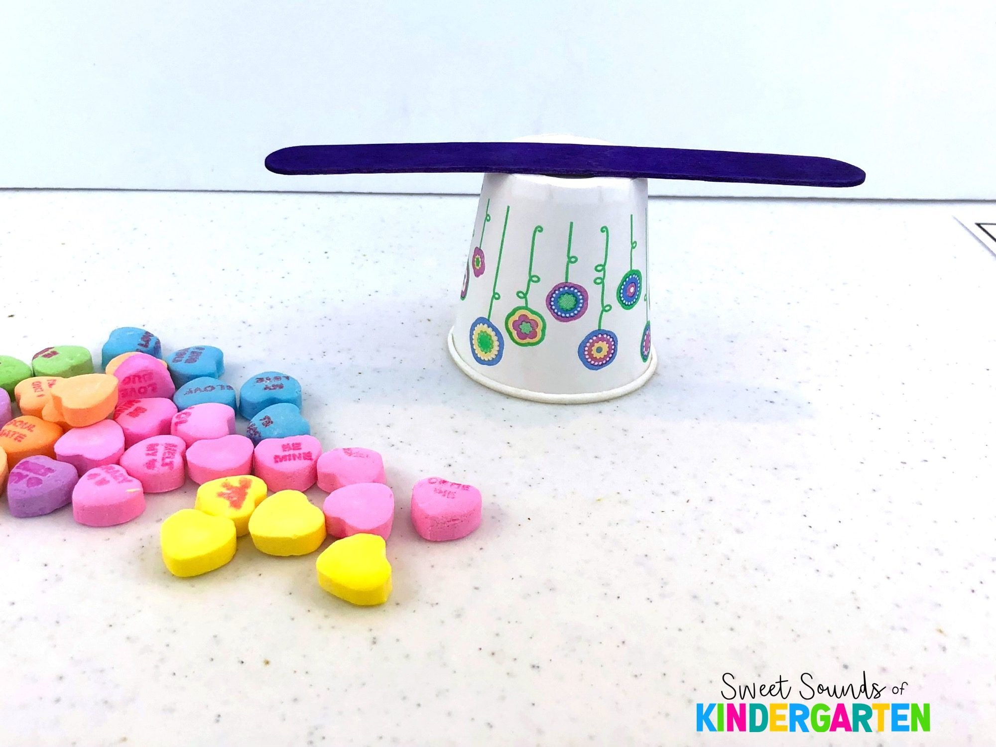 Candy Hearts Stem Challenge With Images