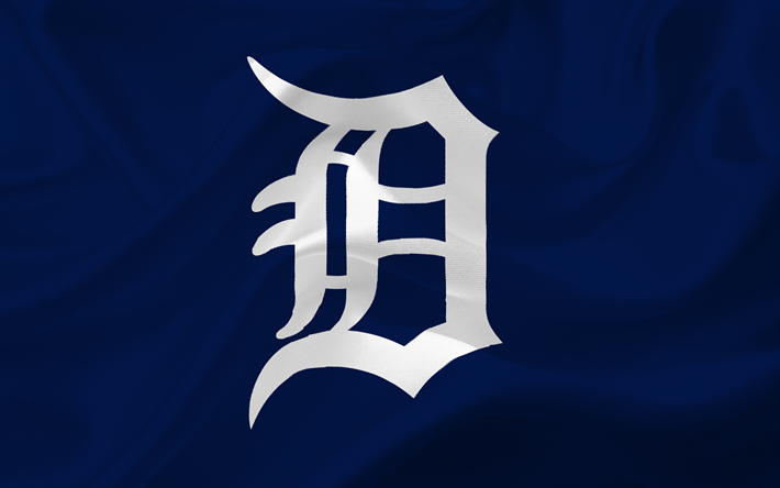 Lataa kuva Detroit Tigers, MLB, Baseball, tunnus, logo, USA, Major League Baseball, Detroit