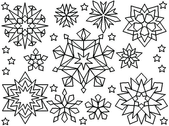 Free Printable Snowflake Coloring Pages For Kids The Joy Of