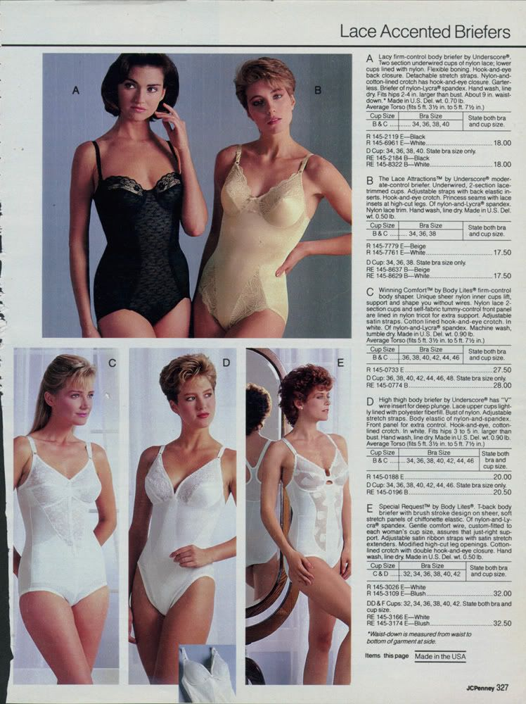 3839813002dcb j.c. penney lingerie catalogue scans