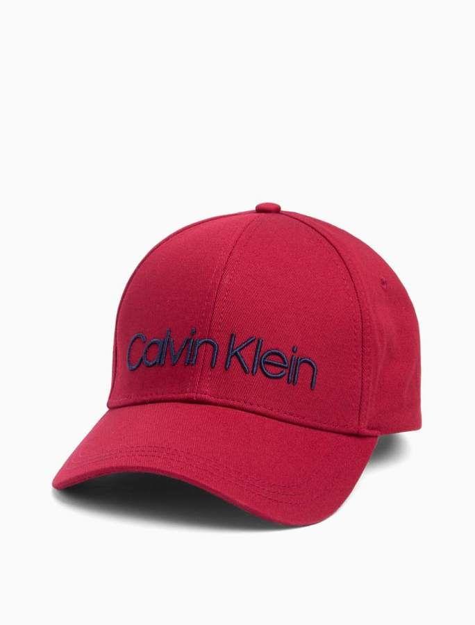 38a40ed9dd6 Calvin Klein embroidered logo cap