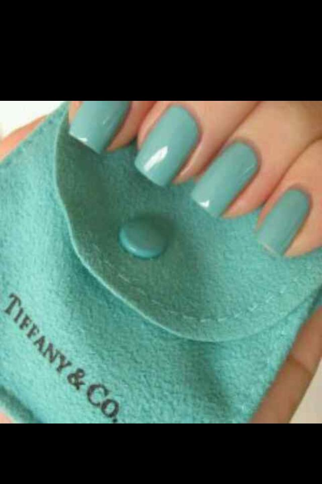 nails tiffany green | Fashion: Mint green | Pinterest