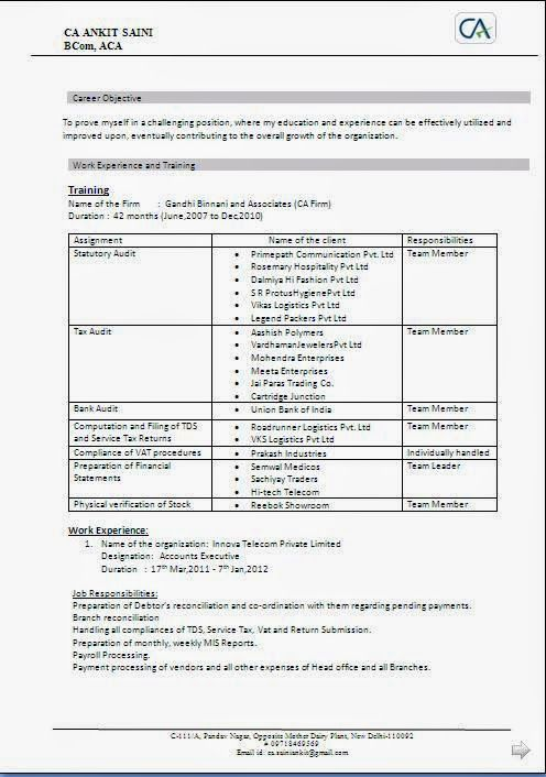 biodata resume format Sample Template Example of Excellent - resume format for work