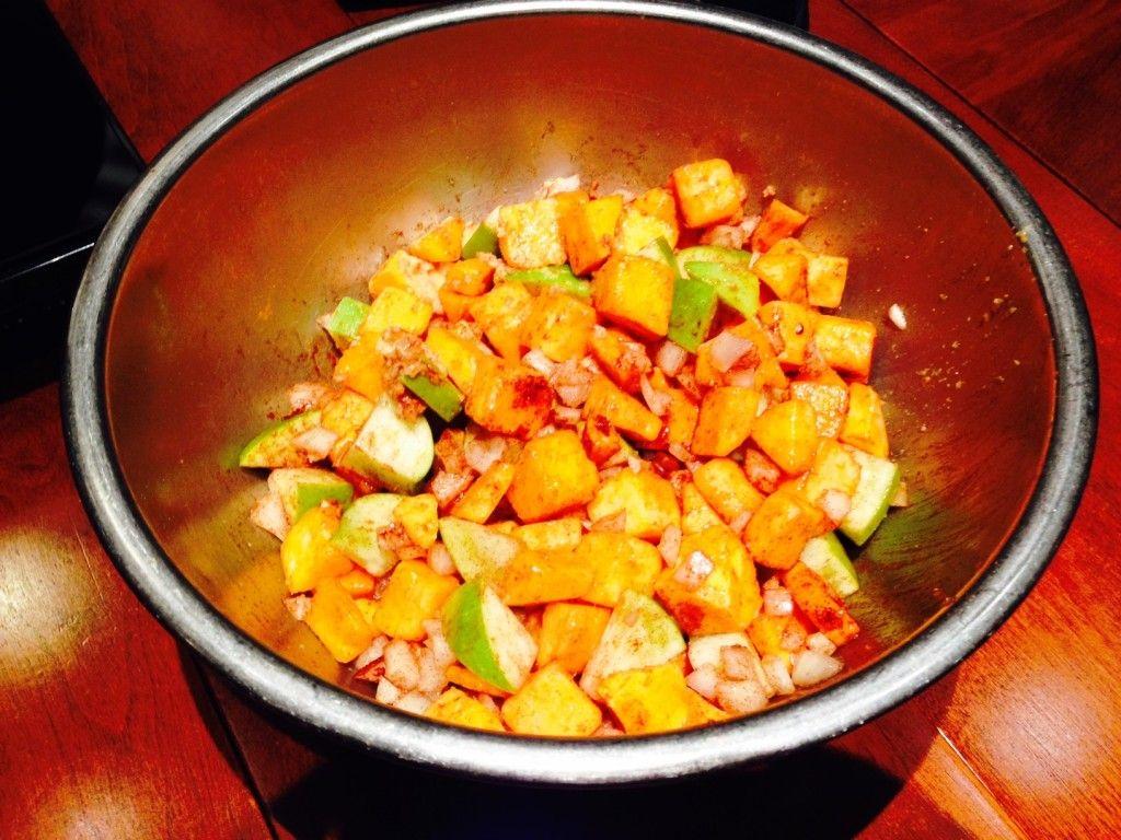 butternut squash soup recipe.