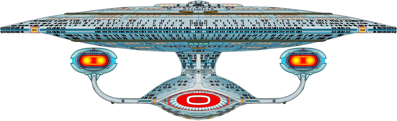 Uss enterprise ncc 1701 d galaxy class saucer separation r flickr - Bow View Of U S S Enterprise Ncc 1701 D