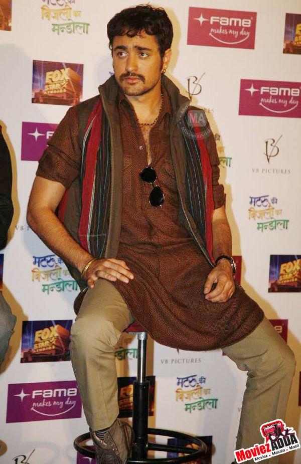 Imran Khan - Trailer launch of Matru ki bijlee ka Mandola movie!!!