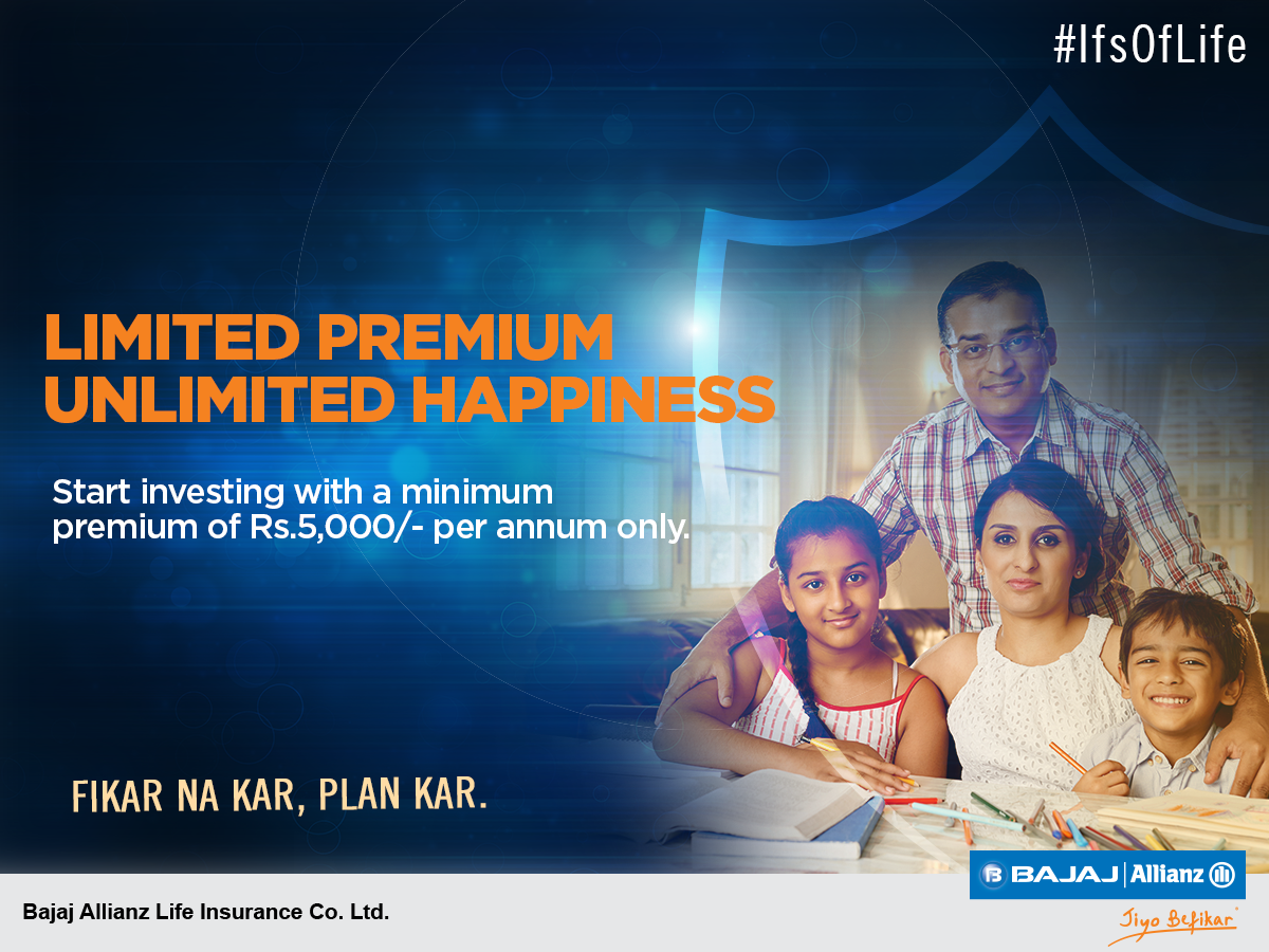 Give your life a security boost with Bajaj Allianz Life