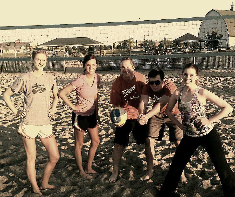 Each Summer Sundog Puts Together Teams For The Sand Volleyball League League Volleyball People